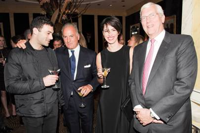 Morgan Spector, Charles Finch, Rebecca Hall and Godfrey Davis