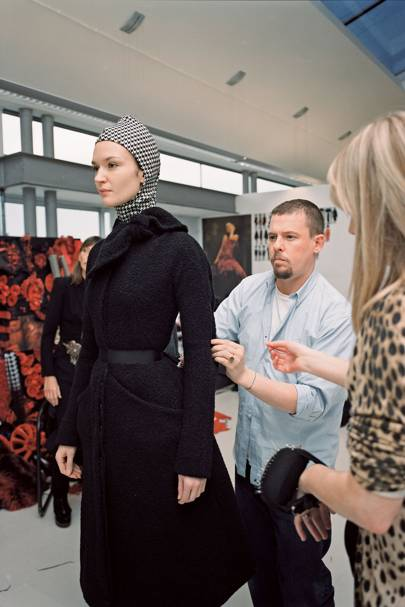Nick Waplington/Alexander McQueen: Working Process