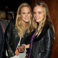 Poppy Sexton-Wainwright and Cressida Bonas