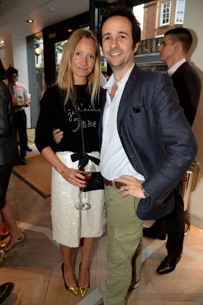 Martha Ward and Matt Hermer