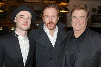 Tom Sturridge, Damian Lewis and John Goodman