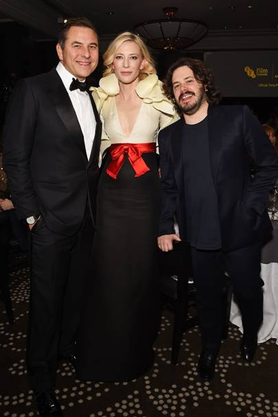 David Walliams, Cate Blanchett and Edgar Wright