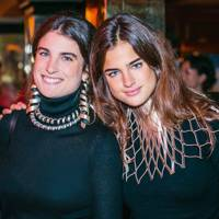Maria Sole Ferragamo and Martina Ferragamo