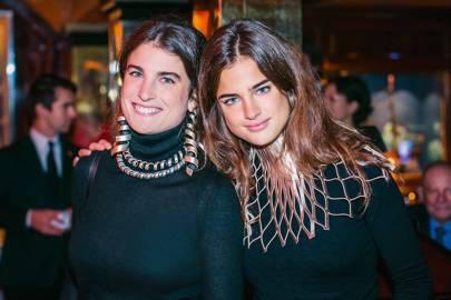 Maria Sole Ferragamo and Martina Ferragamo