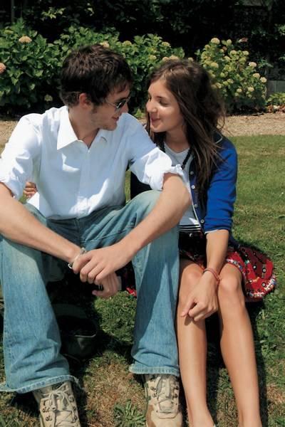 Isaac Ferry and Scarlett Strutt