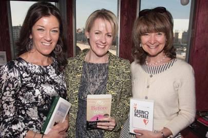 Victoria Hislop, Jojo Moyes and Sarah Dunant