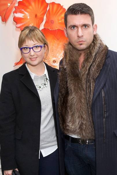 Daniela Bianco and Flavio Gianassi