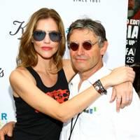 Tricia Helfer and Alain de Cadenet