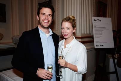 Jamie Wilmott and Kat Maconie