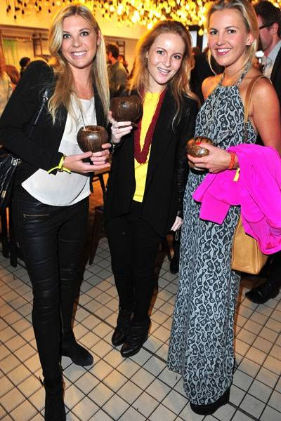 Chelsy Davy, Rasha Said and Hanneli Rupert