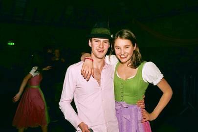 Laurence-Maximilian Cardwell and Teresa Wittek
