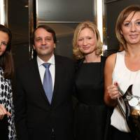 Francisca Kellett, Sylvain Ercoli, Suzanne Duckett and Shelley Hepburn