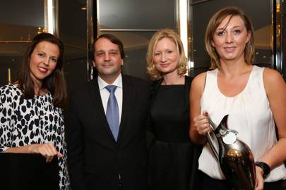 Francisca Kellett, Sylvain Ercoli, Suzanne Duckett and Shelley Hepburn