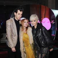 Mark Ronson, Josephine de la Baume and Rita Ora