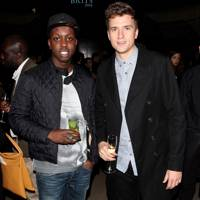 Jamal Edwards and Greg James