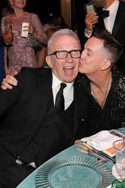 Jean-Paul Gaultier and Jeremy Scott