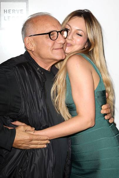 Max Azria and Zara Martin