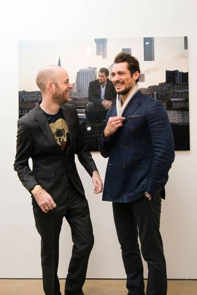 Rich Hardcastle and David Gandy