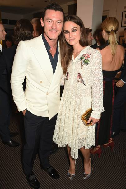 Luke Evans and Keira Knightley