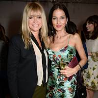 Jo Wood and Yasmin Mills