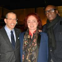 Jonathan Newhouse, Camilla Lowther and Charles Aboah