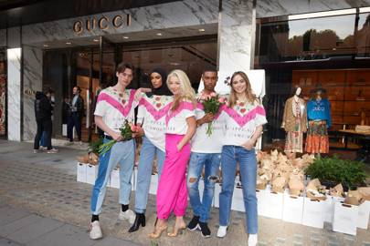 Silent No More: The launch of Lady Garden and Gucci's t-shirt collaboration