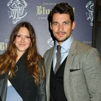 Mary-Clare Elliot and David Gandy