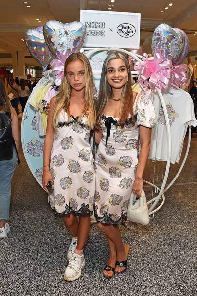 Lady Amelia Windsor and Mimi Wade