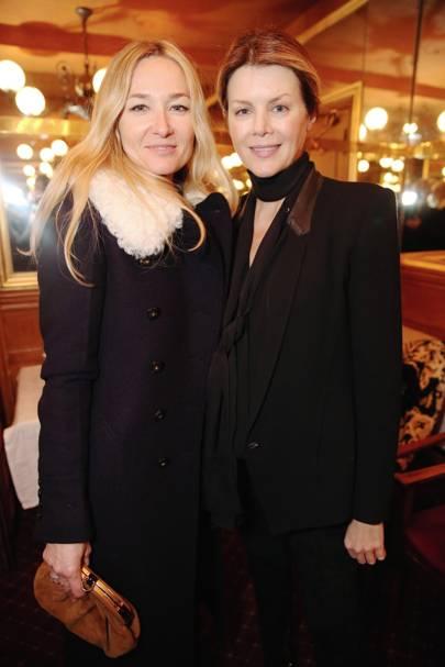 Julie de Libran and Virginie Mouzat