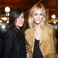 Emmanuelle Alt and Anja Rubik