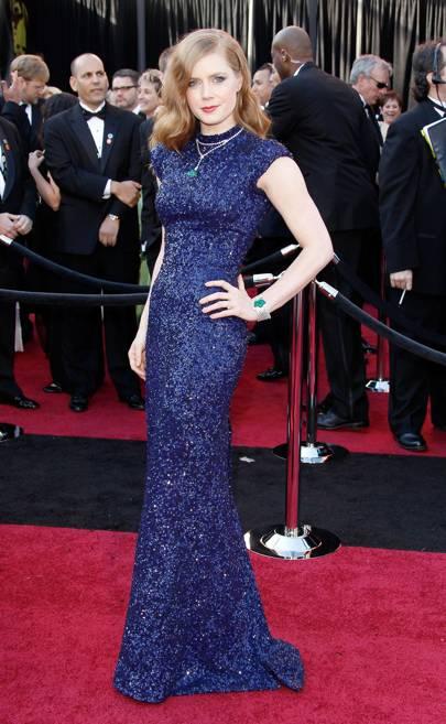 Amy Adams wearing L'Wren Scott in 2011