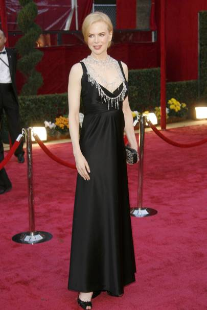 Wearing Balenciaga at the Academy Awards, 2008