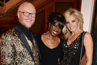 John Caudwell, Claire Caudwell and June Sarpong
