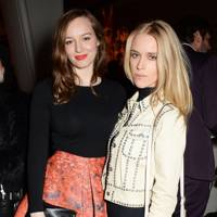 Lou Hayter and Mary Charteris