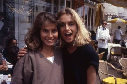 Louise White and Maryam D'Abo