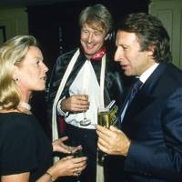 Mrs Christopher Hanbury, Michael St Aubyn and Laurence Graff