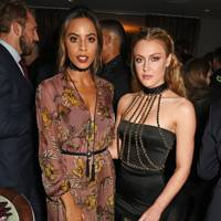 Rochelle Humes and Camilla Kerslake