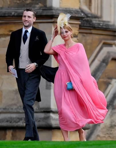 George Barnett and Pixie Geldof