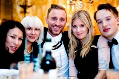 Nicky Elder, Claudia Behnke, Francesco Adams-Facchini, Marissa Montgomery and Fryderyk Szydłowski