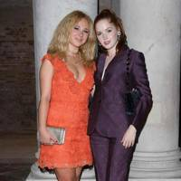 Juno Temple and Ellie Bamber