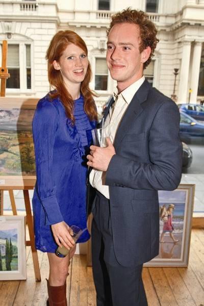 The Hon Lara Hughes-Young and Mr Tom Inskip