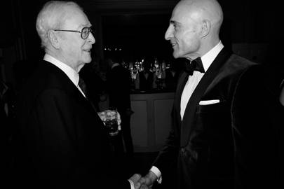 Sir Michael Caine and Mark Strong