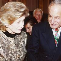 Princess Alexandra and Naim Attallah