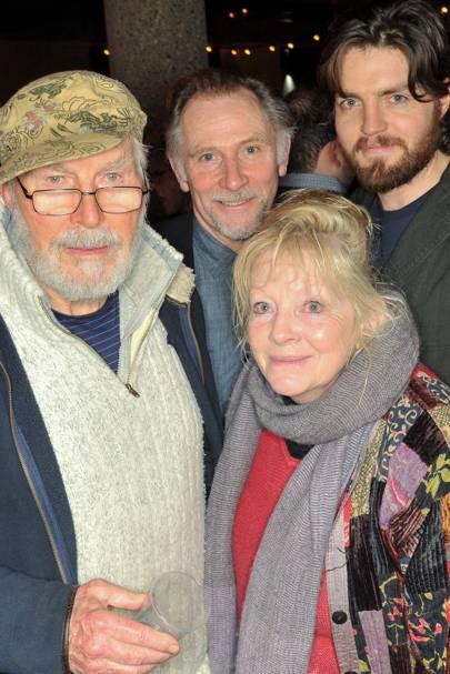 David Burke, Anna Calder-Marshall, Danny Webb and Tim Burke