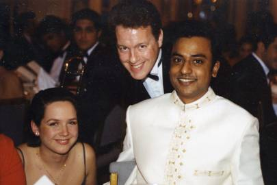 Sarah Hughes, Jeff Triggs and Vincent Anandraj