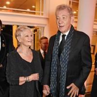 Dame Judi Dench and Sir Ian McKellen