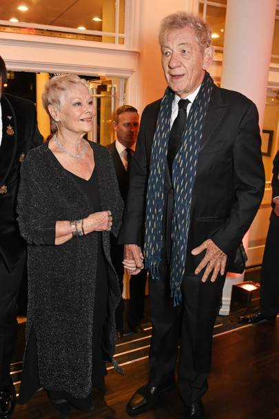 Dame Judi Dench and Sir Ian McKellen