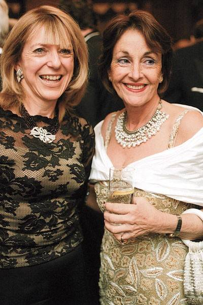 Mrs Robert Enslow and Mrs Joanna Briffa