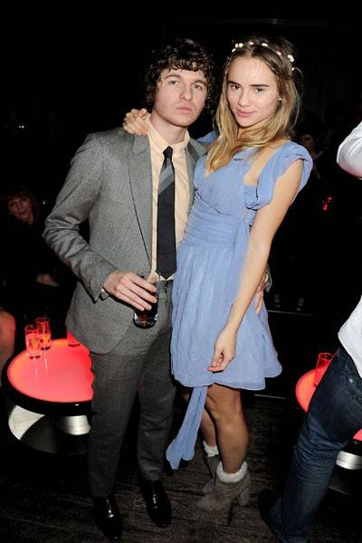 Luke Pritchard and Suki Waterhouse