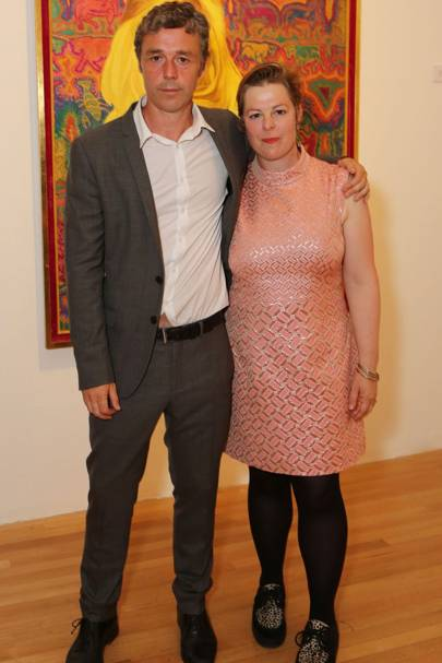 Baxter Dury and Jemima Dury